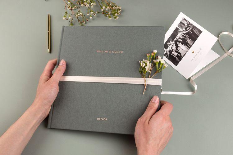 Luxury Wedding Photo Album Book by Rosemood