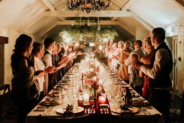 Cosy Christmas wedding in Northern Ireland