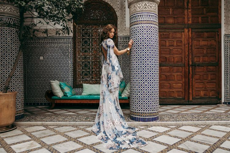 Aegean Dress By Rue De Seine // The Wild Heart Collection From Rue De Seine // Stylish Bohemian Bridal Wear From Rue De Seine // Images By Madly Studio