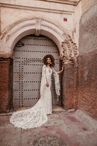Sia Dress By Rue De Seine // The Wild Heart Collection From Rue De Seine // Stylish Bohemian Bridal Wear From Rue De Seine // Images By Madly Studio