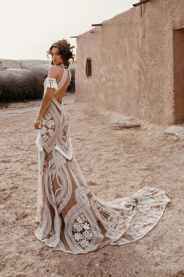 East Dress By Rue De Seine // The Wild Heart Collection From Rue De Seine // Stylish Bohemian Bridal Wear From Rue De Seine // Images By Madly Studio