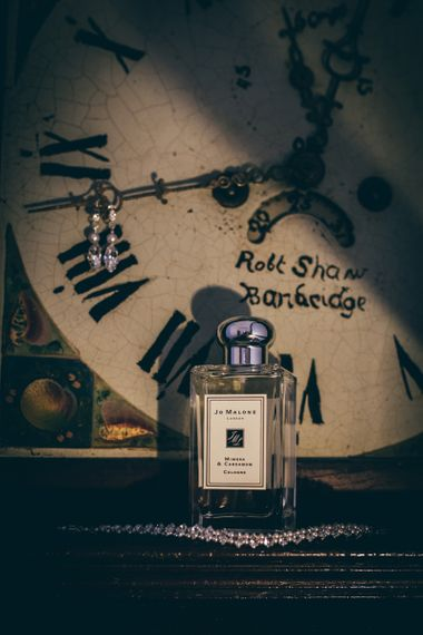 Jo Malone Mimosa & Cardamom Perfume | Nautical Wedding on SS Nomadic Boat in Belfast with Black Tie Dress Code | Sarah Gray Photography