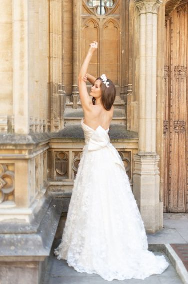 White Swan wedding dress by Sally Bean Couture