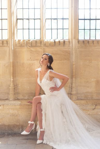 Falling Flowers wedding dress by Sally Bean Couture