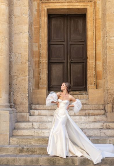 Enchanted wedding dress by Sally Bean Couture