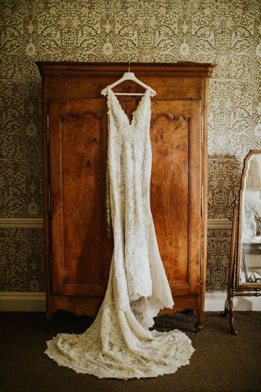 蕾丝Pronovias婚纱礼服