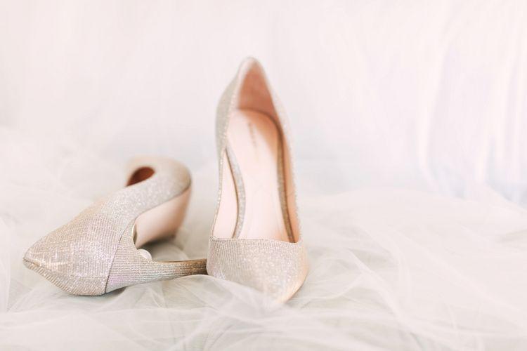 Silver Sparkle Nicholas Kirkwood Bridal Shoes