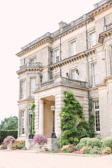 Italianate-style mansion Hedsor House in Buckinghamshire, England.