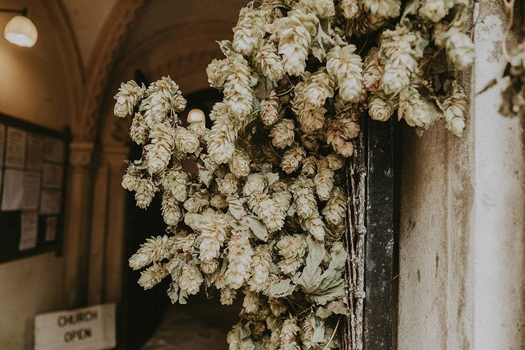 White Church Wedding Flowers | English Country Garden Marquee Wedding at the Family Home on the Isle of Wight | Jason Mark Harris Photography