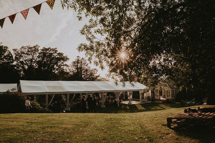 English Country Garden Marquee Wedding at the Family Home on the Isle of Wight | Jason Mark Harris Photography