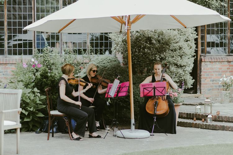 String quartet wedding entertainment