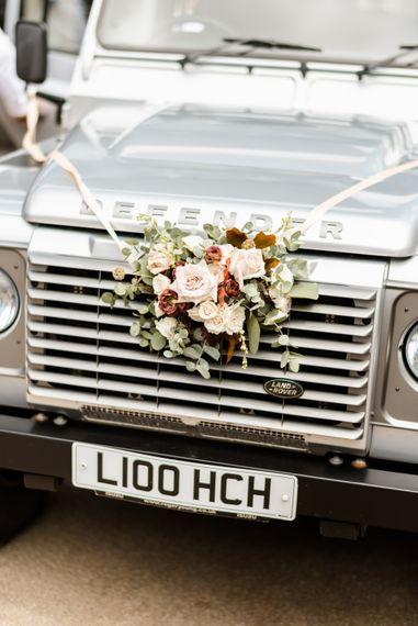 Land Rover Wedding Transport