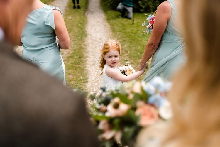 The Barn At South Milton Wedding With Outdoor Humanist Ceremony And Floral Arch By Flowers By Passion Images From John Barwood Photography