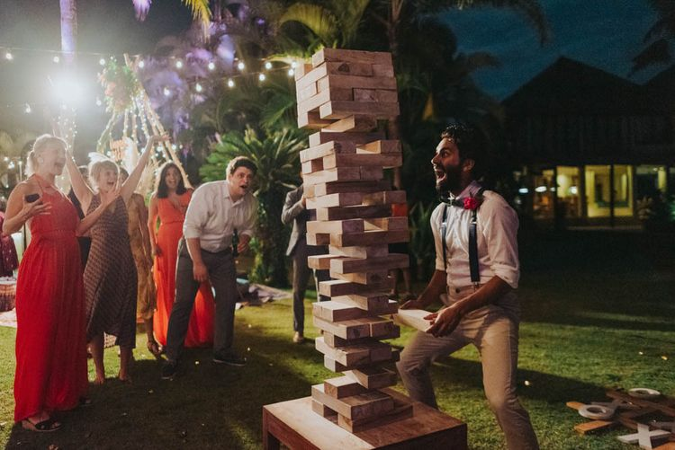 Wedding games for guests to enjoy