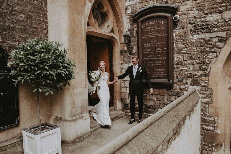 St Etheldreda Church Wedding // Image By Jason Mark Harris