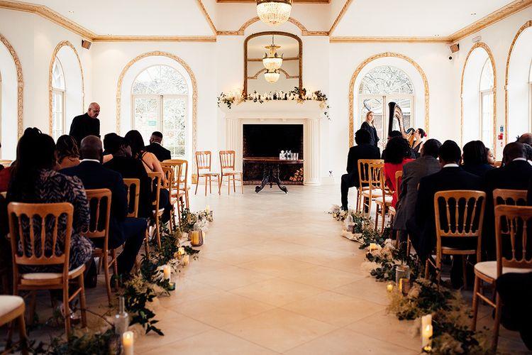 Ceremony at Northbrook Park Wedding Venue