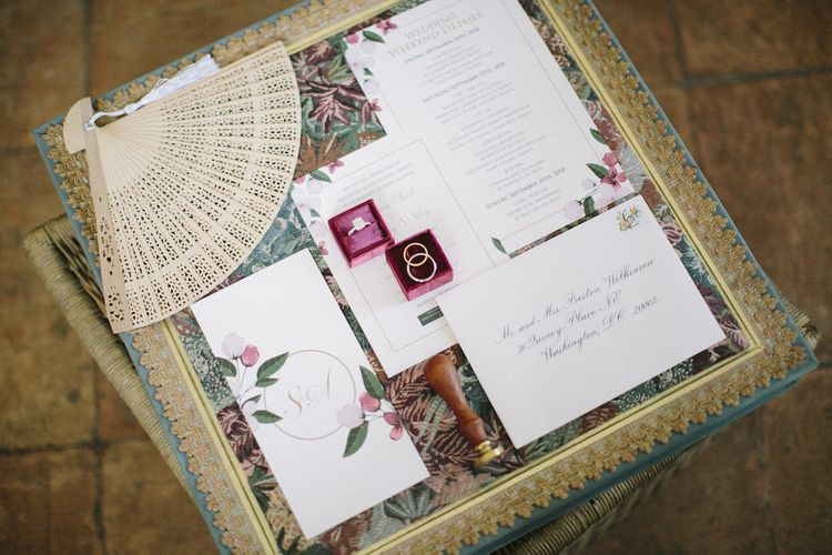 Wedding Stationery Suite and Ring Box