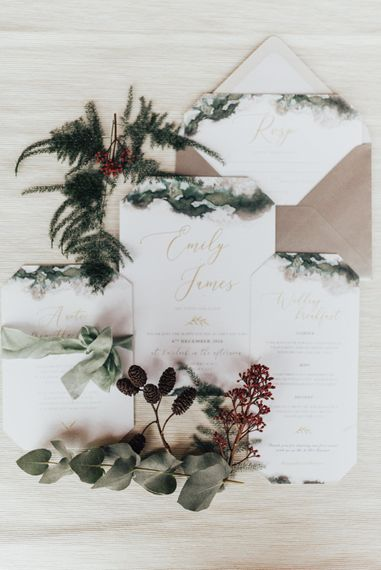 Elegant Wedding Stationery Suite | Geometric Wedding Decor & Styling by Locate to Create at The Cherry Barn | Rebecca Carpenter Photography