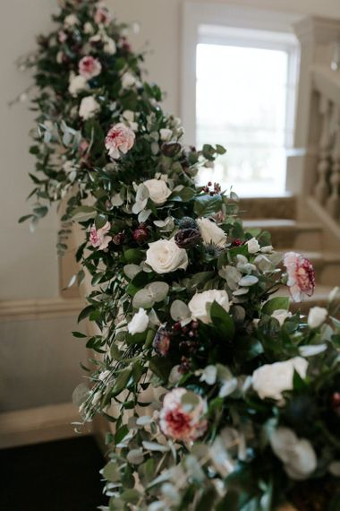 Wedding flowers at Morden Hall