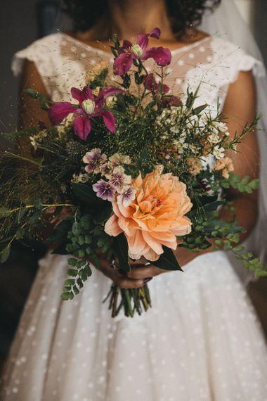 Just Picked Wedding Bouquet