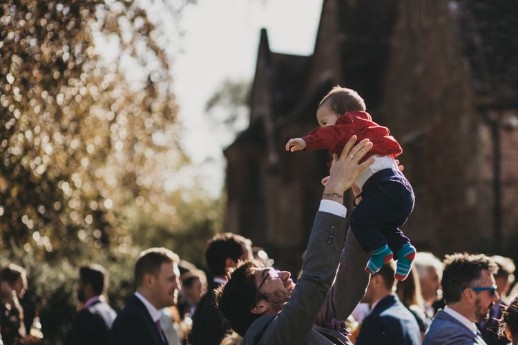 Baby Being Thrown in the Air