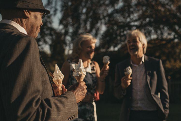 Ice-Cream Cone Wedding Favours