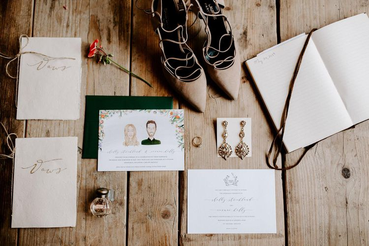 Wedding stationery for micro wedding