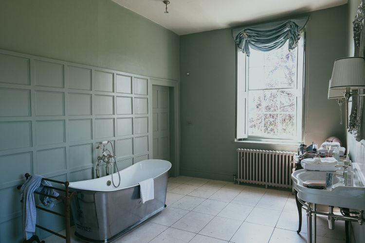 Bathroom at Elmore Court Country House