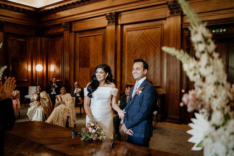 Old Marylebone Town Hall civil ceremony