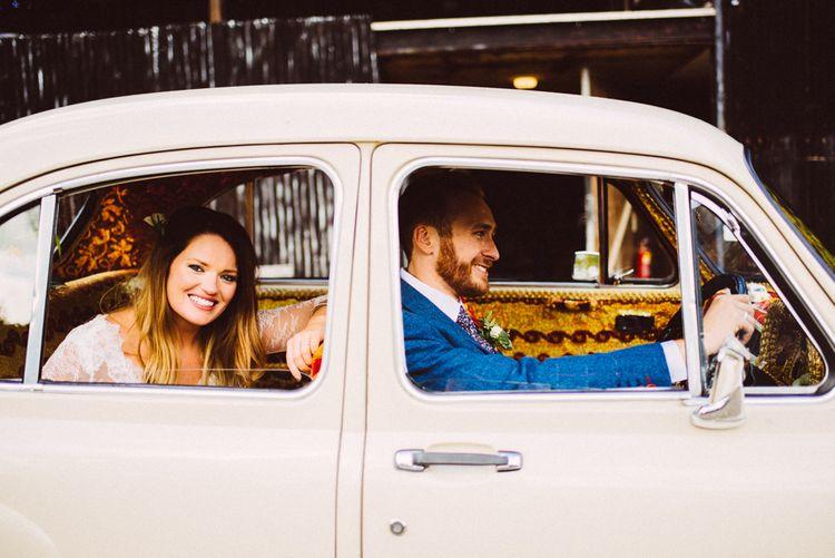 Kushi Car Wedding Transport // Image By Ed Godden Photography