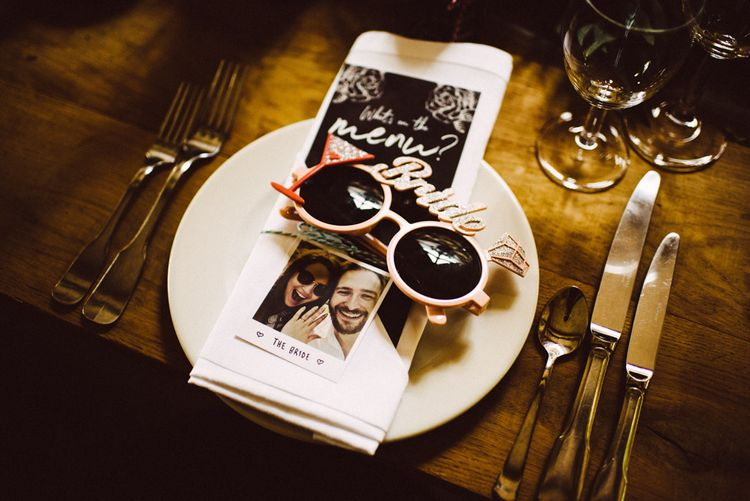 Sunglasses Wedding Favours // Image By Ed Godden Photography