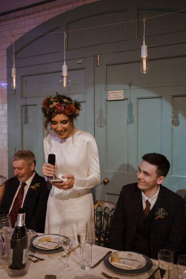 Bride Wedding Reception Speech