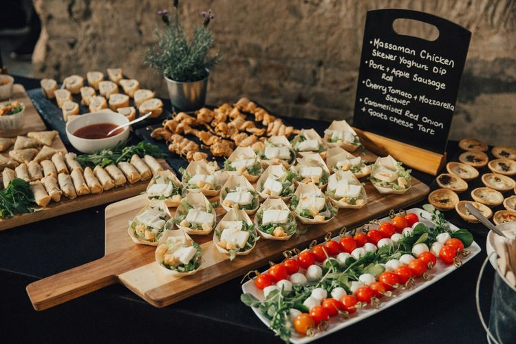 Wedding Canapes by Plenty of Thyme
