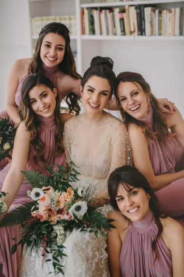 Bridal Party Portrait for Small Wedding