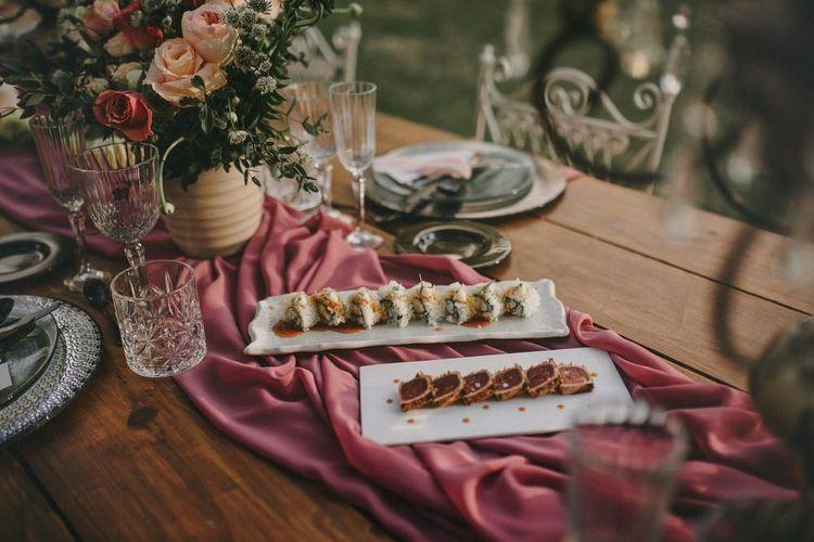 Sushi Wedding Breakfast