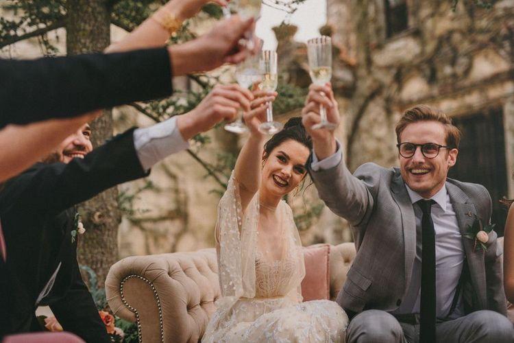 Small Wedding Toast