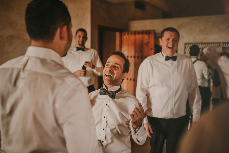 Wedding Morning Grooms Preparations | Marrakesh Wedding at Ksar Char Bagh Hotel, Planned by Instants Magiques | Pablo Laguia Photography | Monika Frias Videography