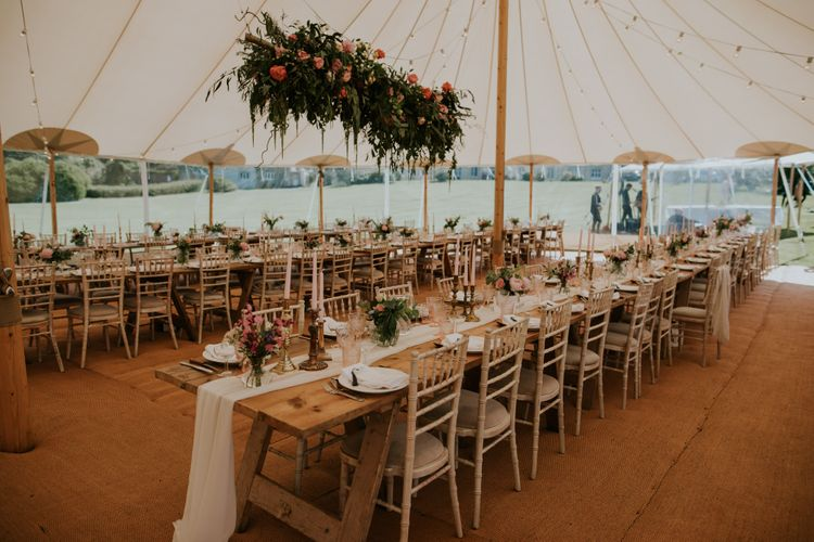 Sperry Tent Wedding In Cornwall // Coastal Wedding In St Mawes Cornwall With Food By The Hidden Hut And Planning By Isla And Smith With Images From Enchanted Brides Photography