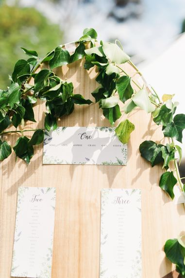 Surf Board Table Plan For Wedding