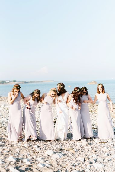 Pale Lilac Bridesmaids Dresses From ASOS