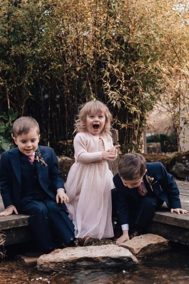 Page Boys and Flower Girl