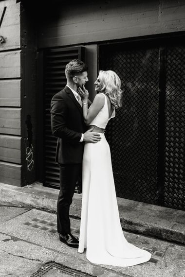 Ace Hotel London Wedding With Stylish Bride In Bespoke Separates And Groom In Valentino With Images And Film From Agnes Black Photography