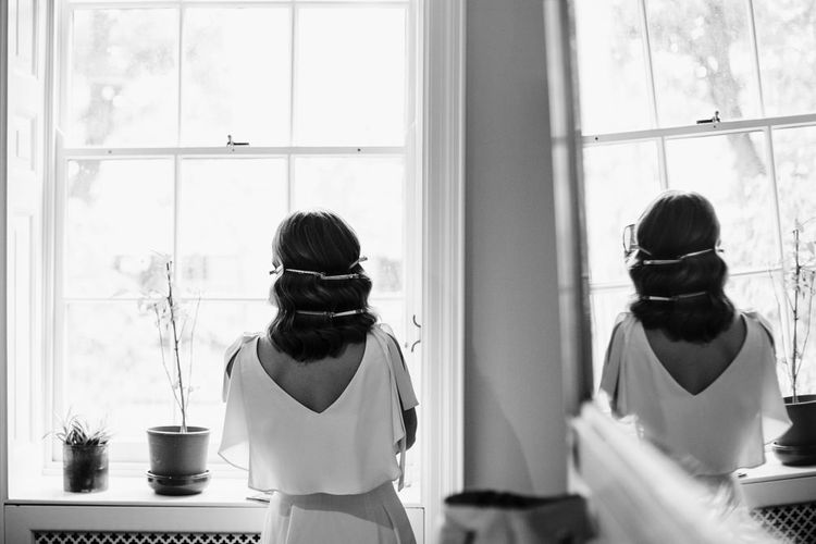 Wedding Morning Preparations | Bridesmaid Hair | Shoreditch Wedding at Village Underground with Bride in Grace Loves Lace | Chris Barber Photography