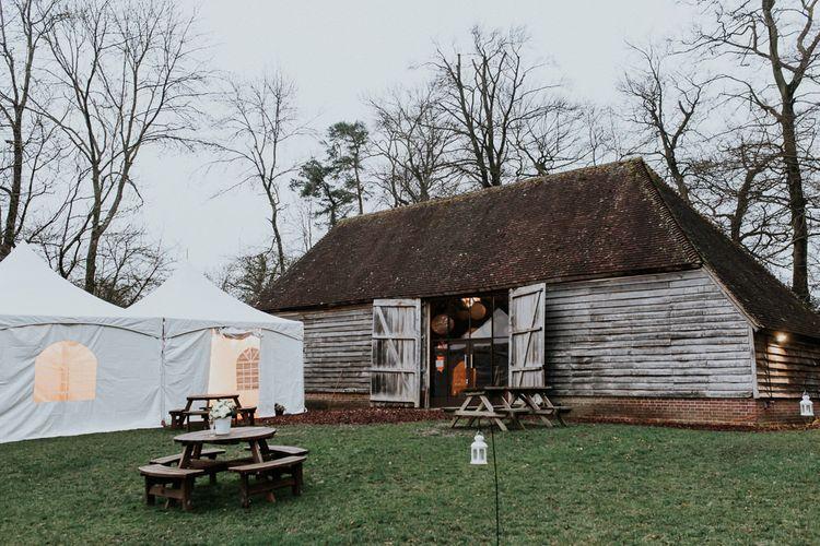 Gold, Grey & Green Rustic Wedding at The Gilbert White's 16th Century Hampshire Barn   Joasis Photography