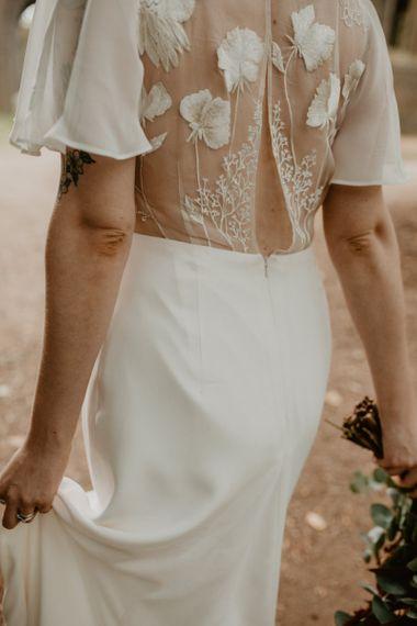 Lace Back Wedding Dress by Story of My Dress