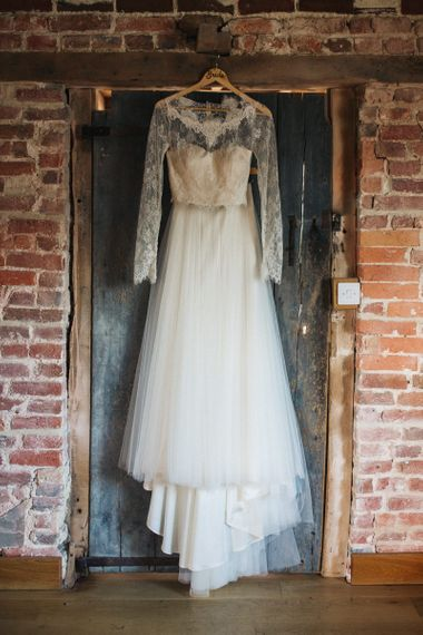 Lace Top and Tulle Skirt Bridal Separates