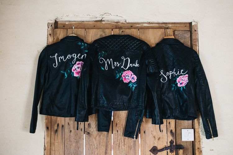 Hand-Painted Leather Jackets