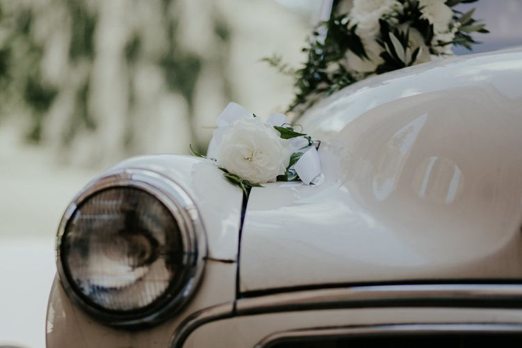 Vintage Wedding With Flowers // Image By Olivia Whitbread Roberts Fine Art Photography