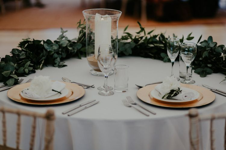 Foliage Runners For Table // Image By Olivia Whitbread Roberts Fine Art Photography