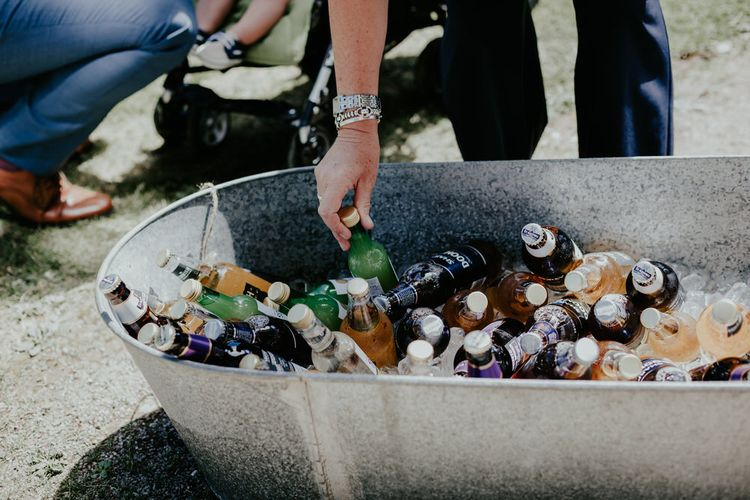 Beer Barrow For Wedding // Image By Olivia Whitbread Roberts Fine Art Photography
